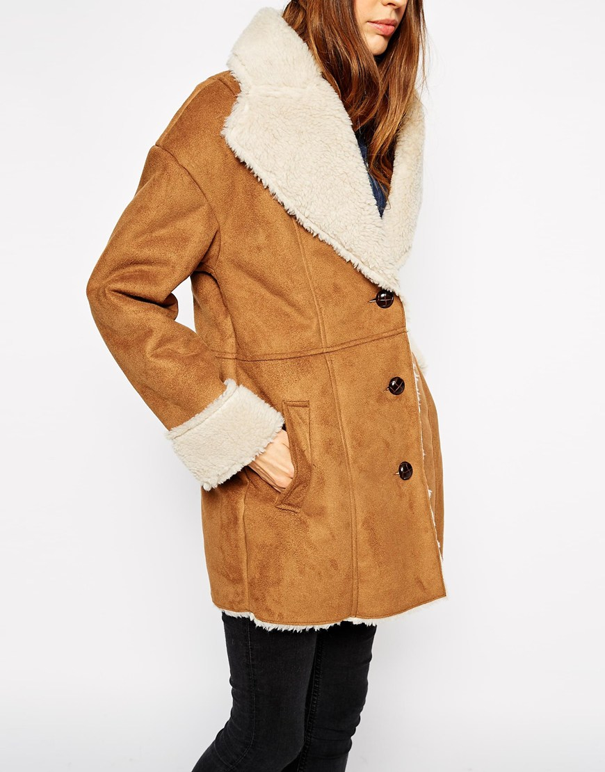 Faux fur women coats