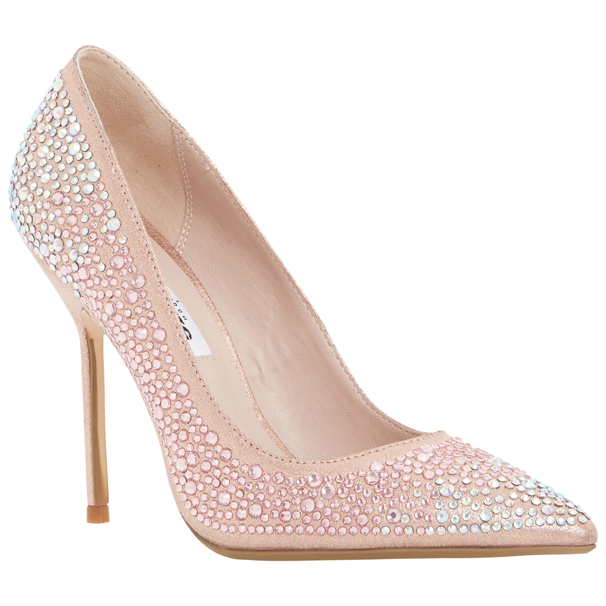 42f937e4fb Dune Beautie Embellished Stiletto Court Heels in Pink - Lyst