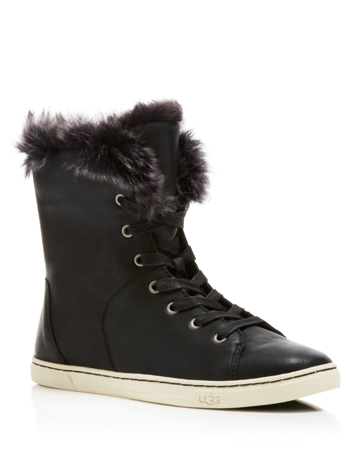 Ugg Croft High-top Sneaker in Black