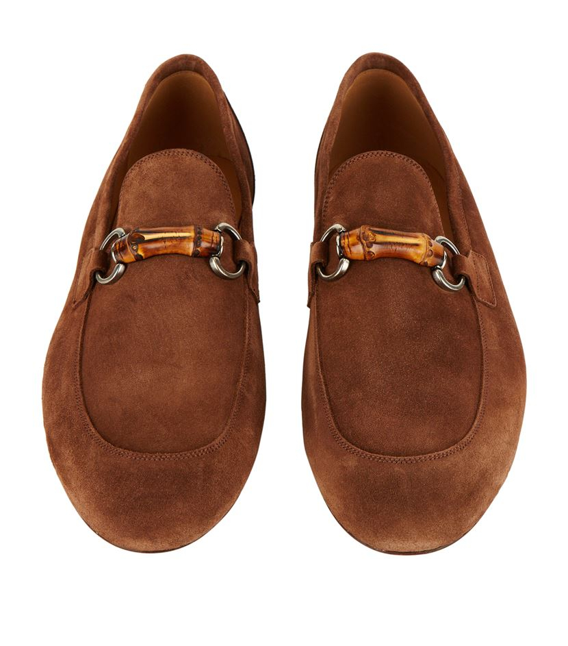 d991d418466 Gucci Freud Bamboo Horsebit Loafer in Brown for Men - Lyst
