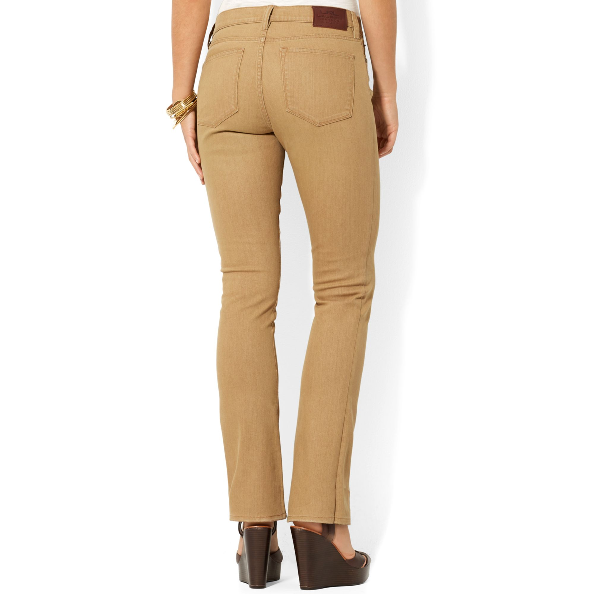 Tan Jeans For Women Ye Jean