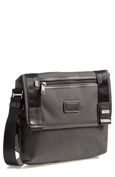Tumi 'alpha Bravo - Beale Mini' Messenger Bag in Gray for Men | Lyst