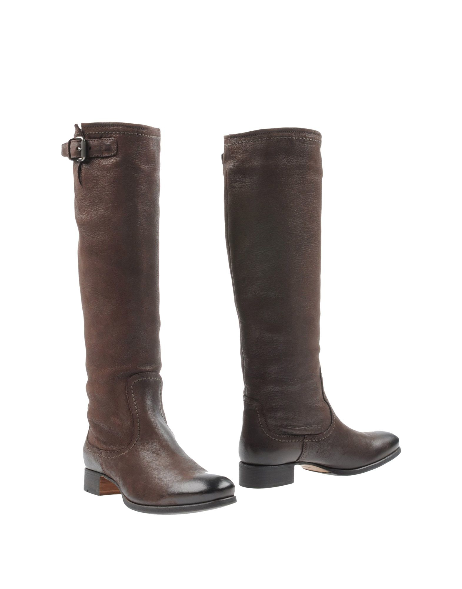 Lyst - Prada Boots in Brown