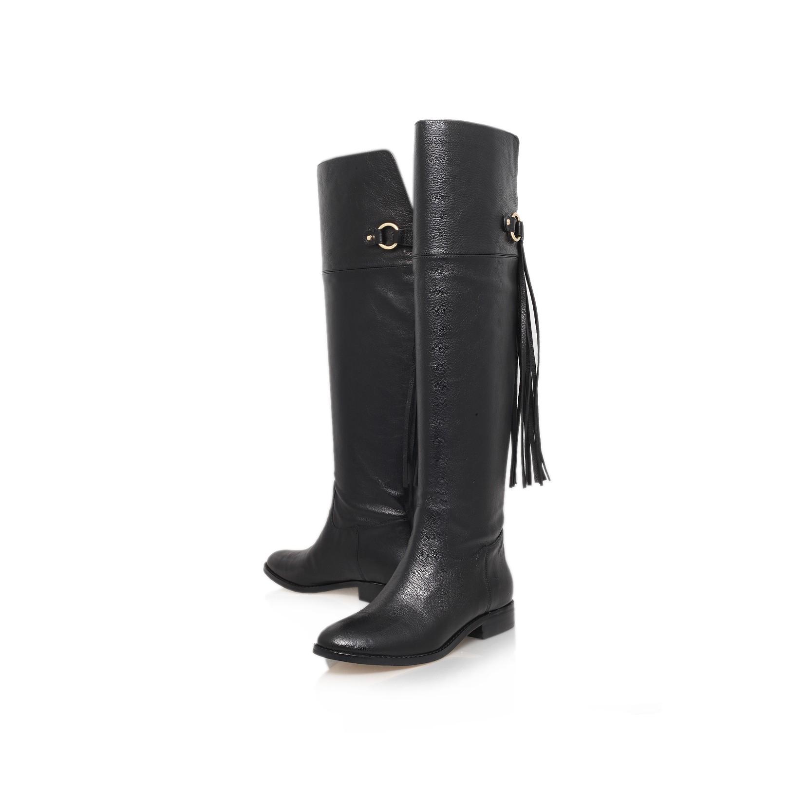 a9ce4a22a35 MICHAEL Michael Kors Rhea Flat Boot in Black - Lyst