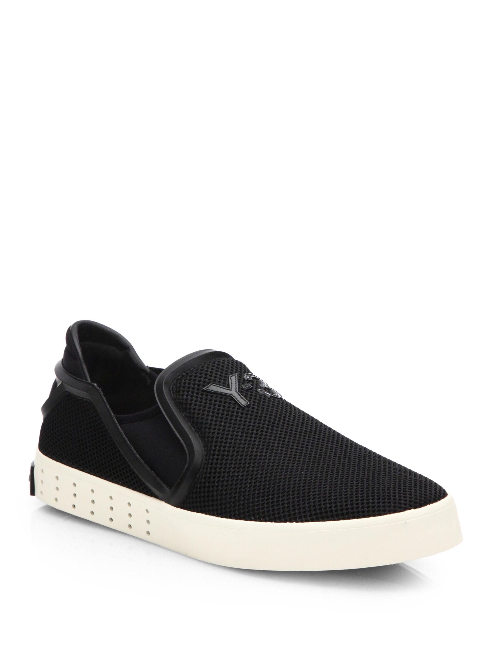 Lyst Y 3 Laver Slip On Sneakers In Black For Men