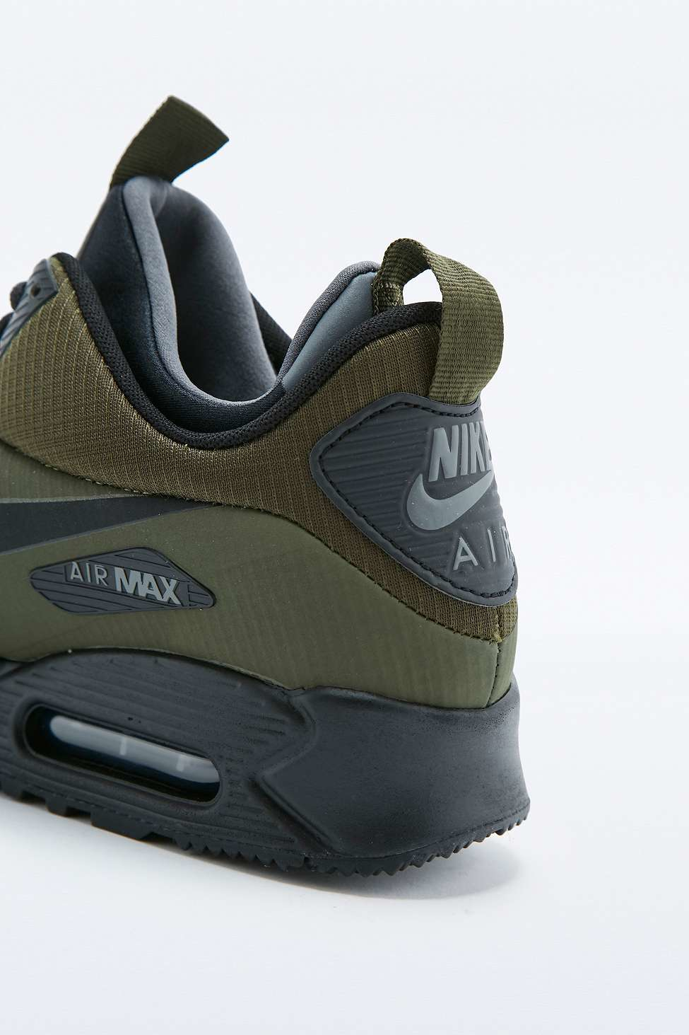 reputable site d35f3 5cbab Nike Air Max 90 Mid Winter Khaki Trainers in Green for Men - Lyst