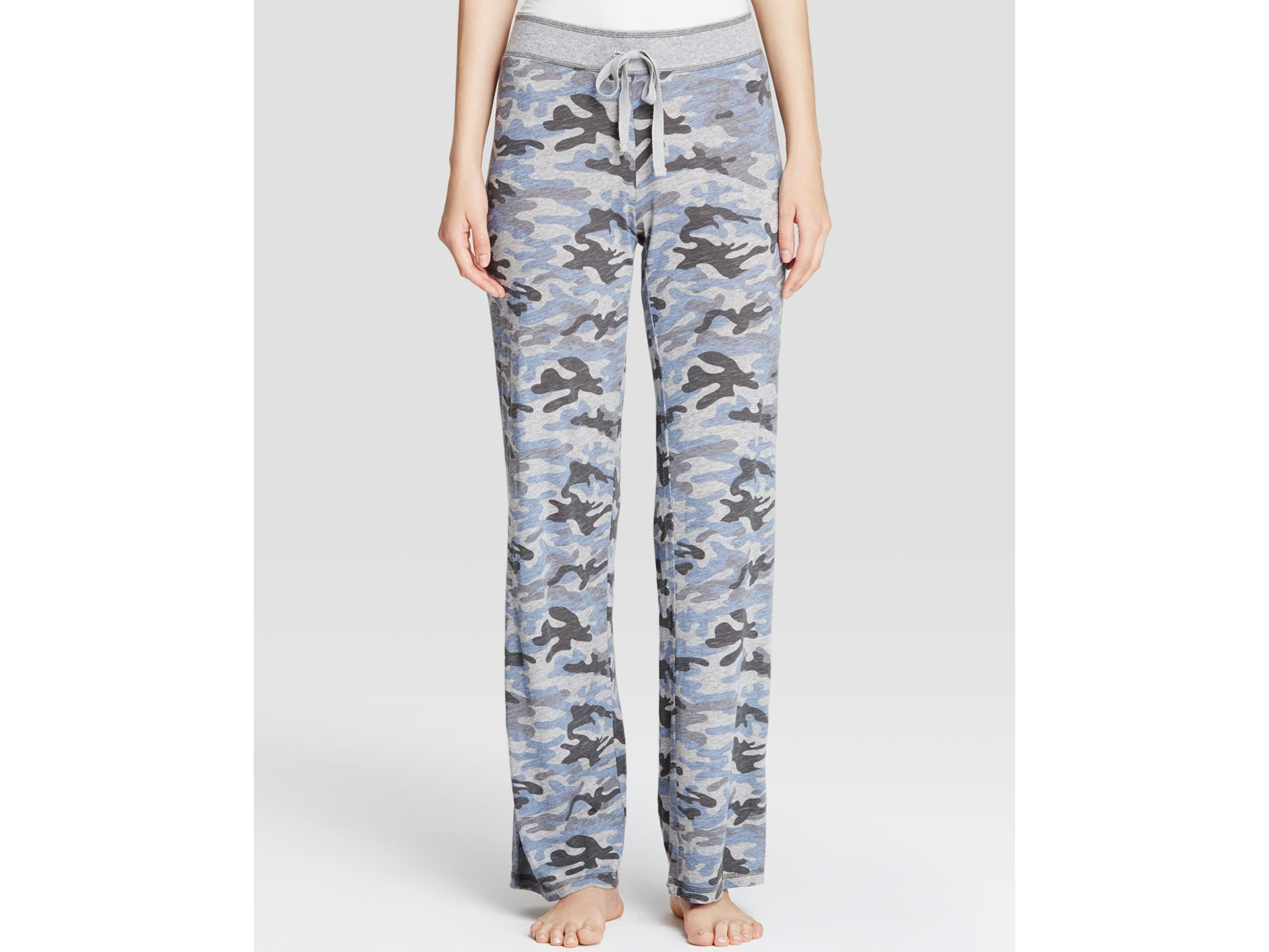 Creative Rewind 9127 Womens Gray Camouflage Stretch Cargo Pants ...