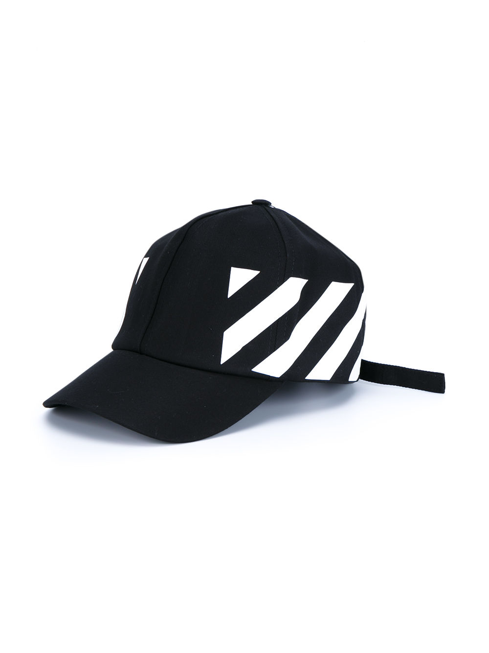 3624e3824a5 Lyst - Off-White c o Virgil Abloh Baseball Cap With Stripe Print in ...