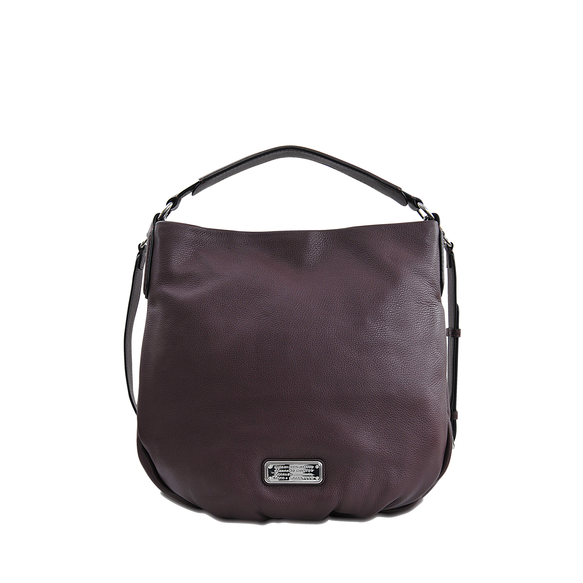 marc by marc jacobs new q hillier hobo bag in purple lyst. Black Bedroom Furniture Sets. Home Design Ideas