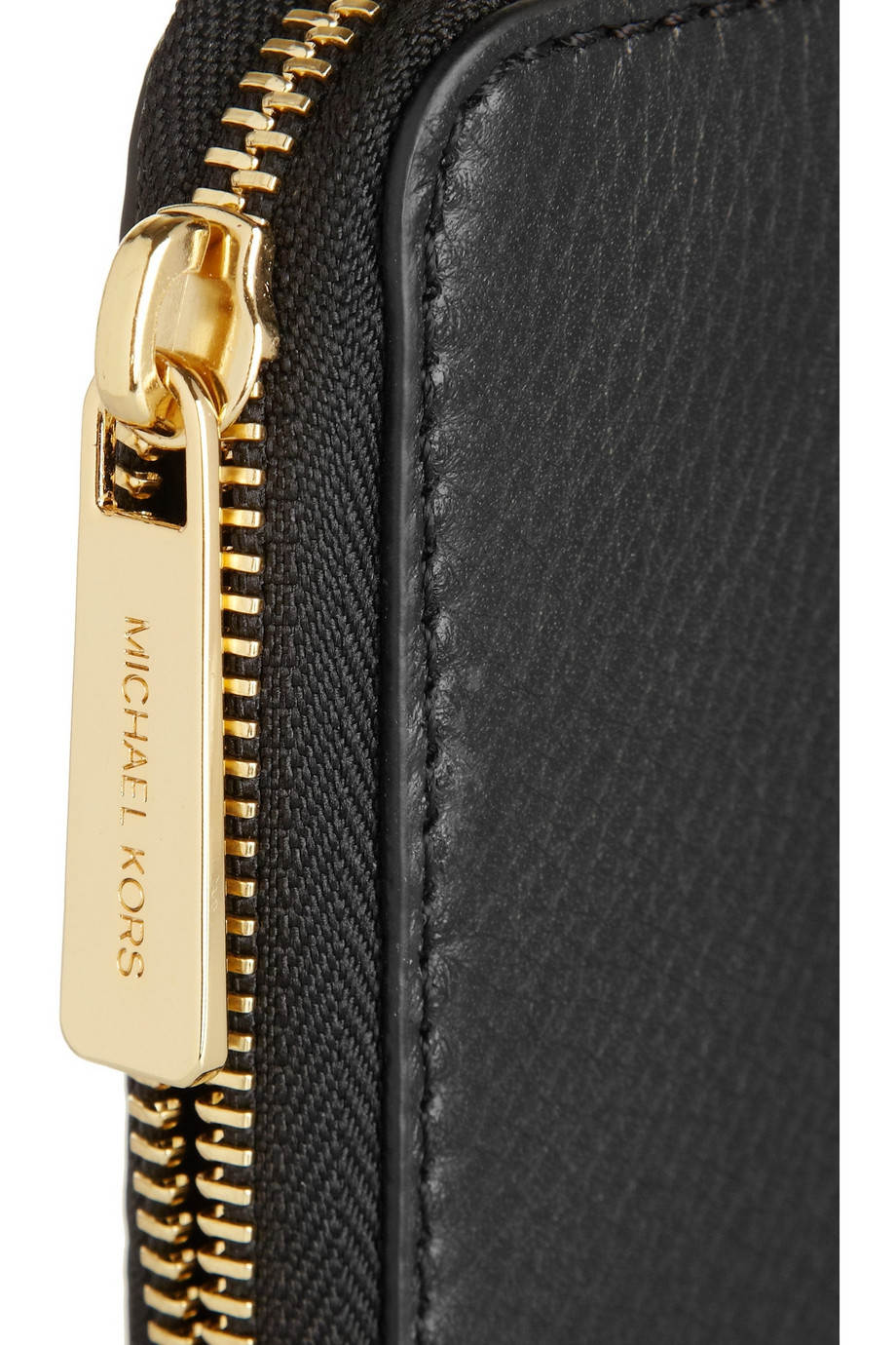 577dacb2e185 Lyst - MICHAEL Michael Kors Bedford Textured-leather Continental ...