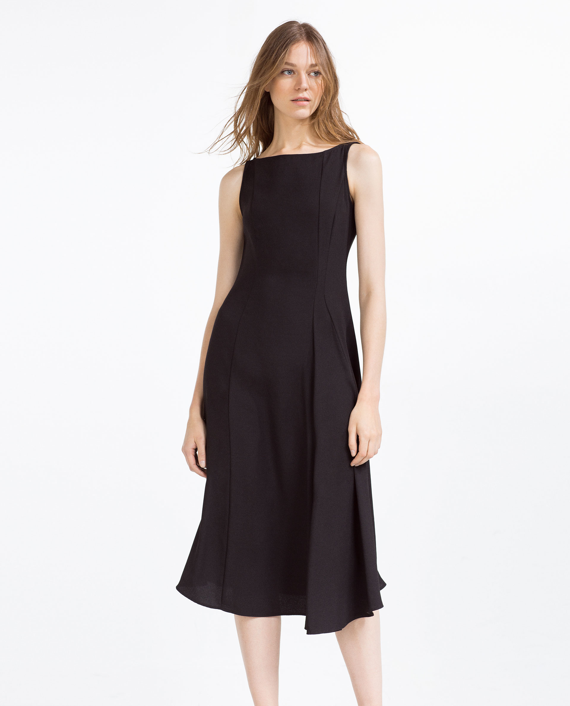 Black Mid Length Dresses