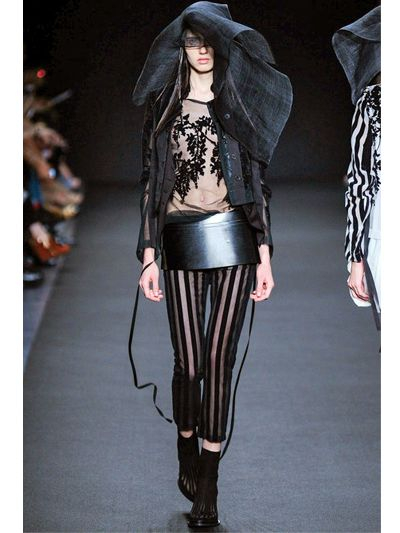 Ann demeulemeester 190mm Leather Skirt Belt in Black   Lyst