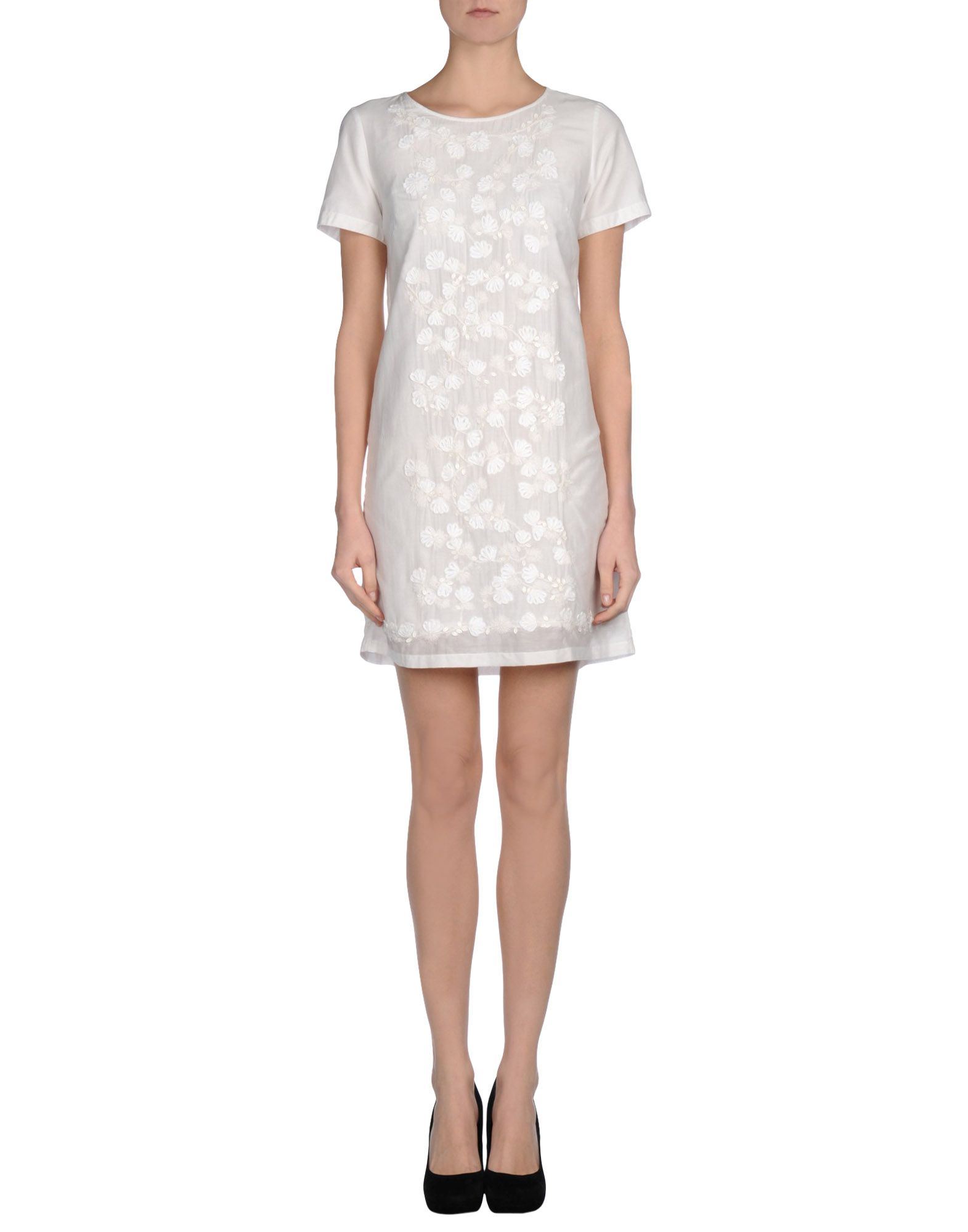 connection dress in white lyst