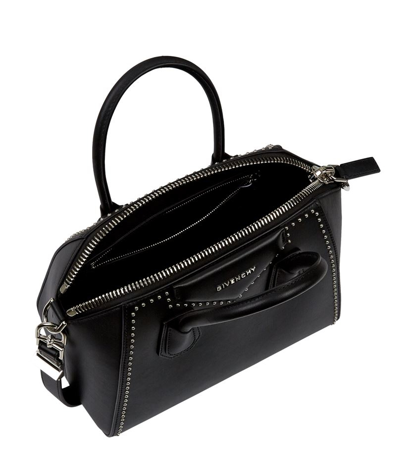 eb00012d9ccb Givenchy Small Stud Antigona Tote in Black - Lyst