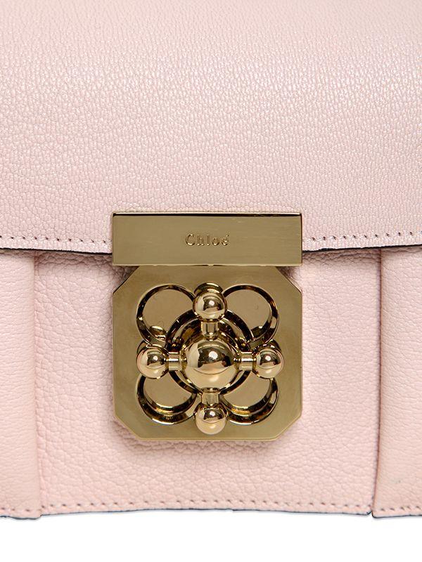 e522e2b4f7e ... chloe handbags replica - Chlo   Pink Leather Mini Elsie Bag in Pink
