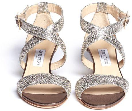 Glitter Wedge Sandal Glitter Wedge Sandals in