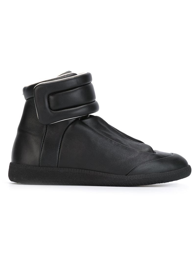 maison margiela concealed vamp sneakers in black lyst. Black Bedroom Furniture Sets. Home Design Ideas