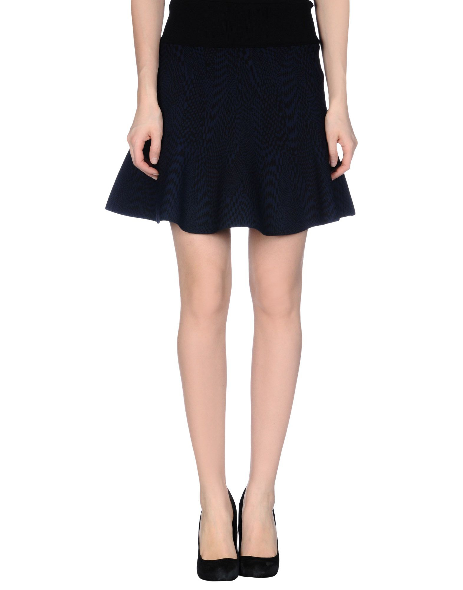opening ceremony mini skirt in blue blue save 62