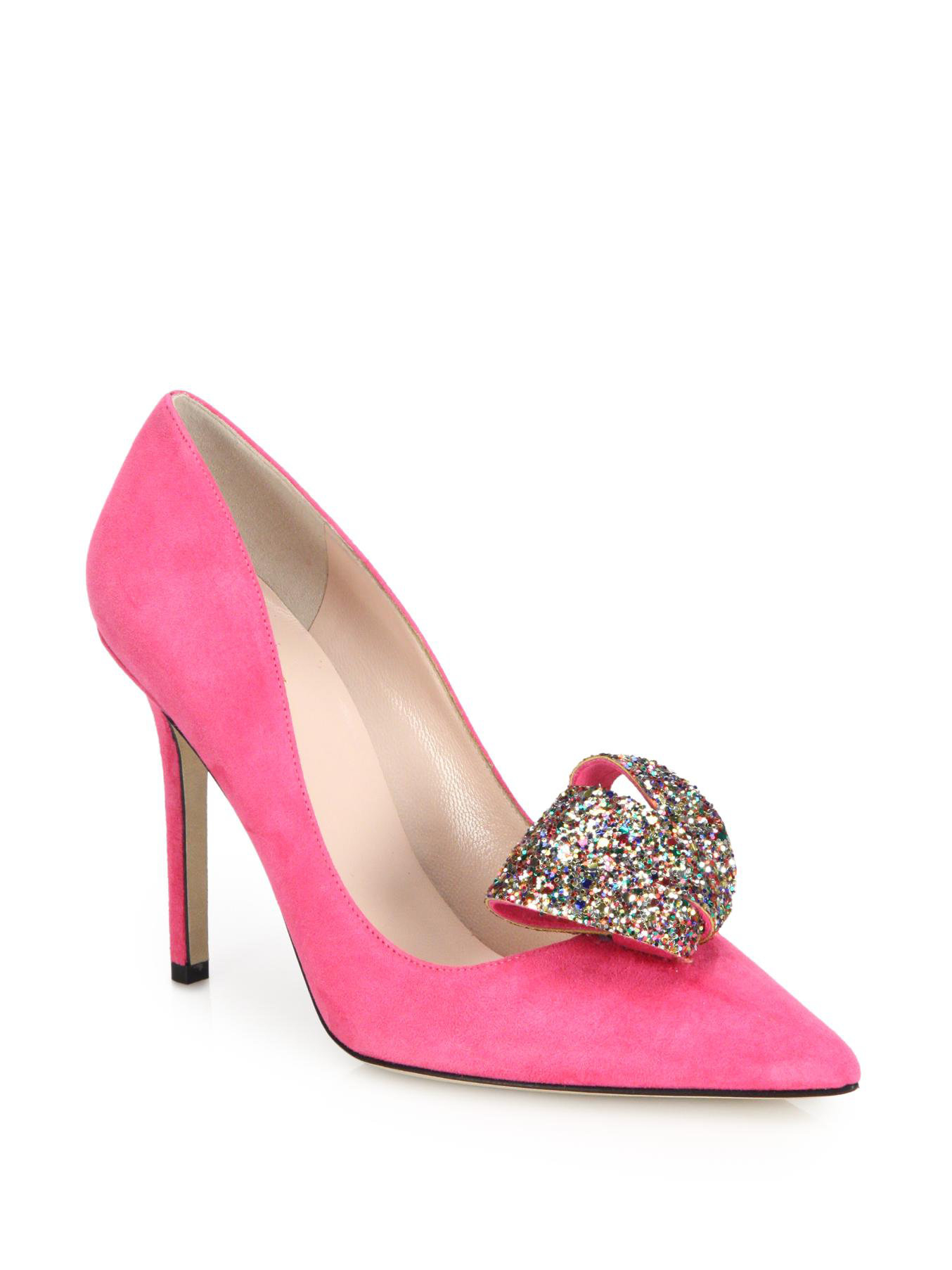 pink sparkly heels with bow wwwpixsharkcom images