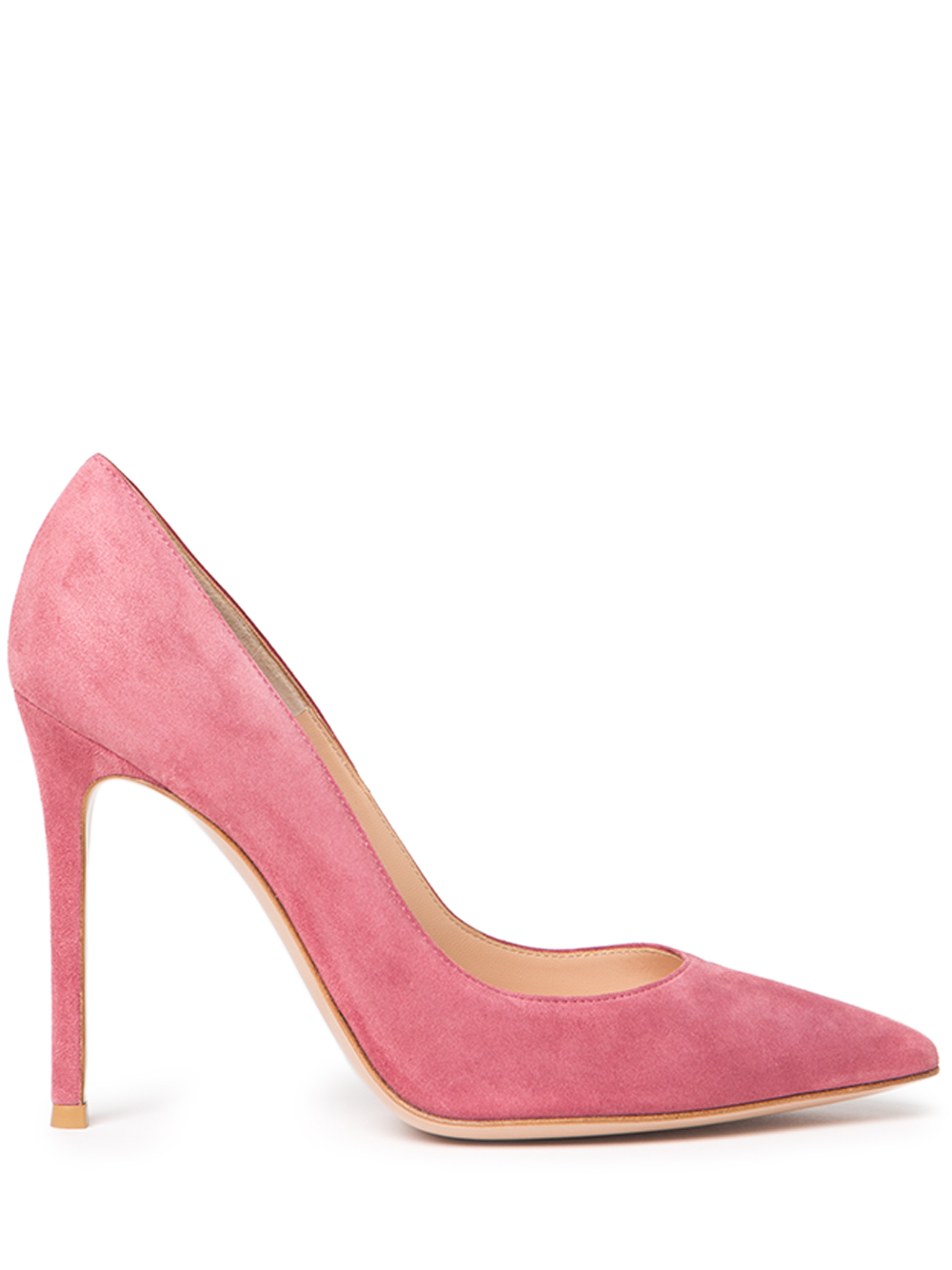 Gianvito Rossi Classic Suede Pumps In Pink Lyst