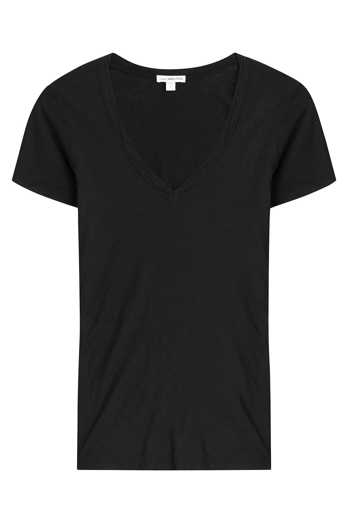 James perse cotton t shirt black lyst for James perse t shirts sale
