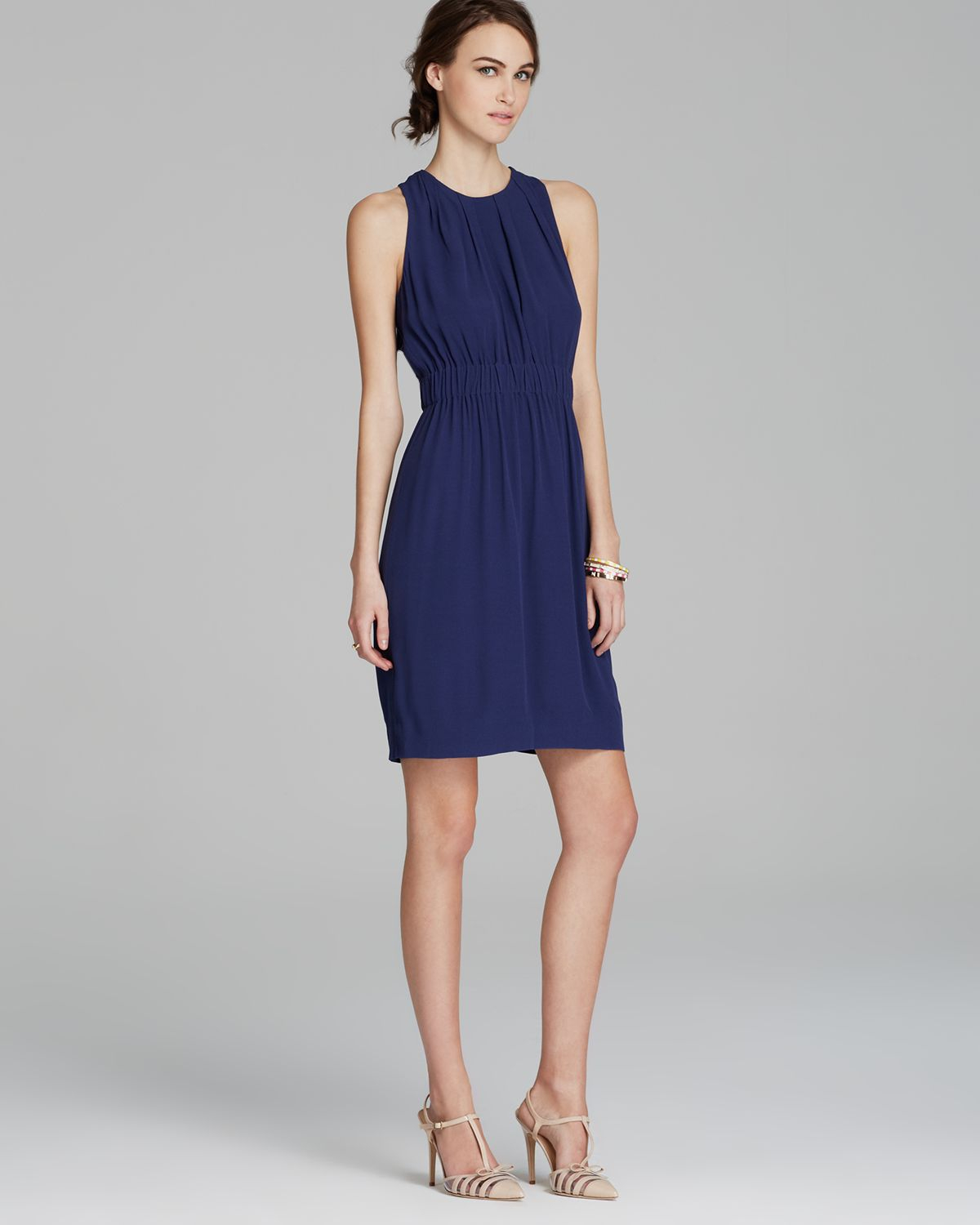 Kate Spade Carlie Dress In Blue French Navy Lyst