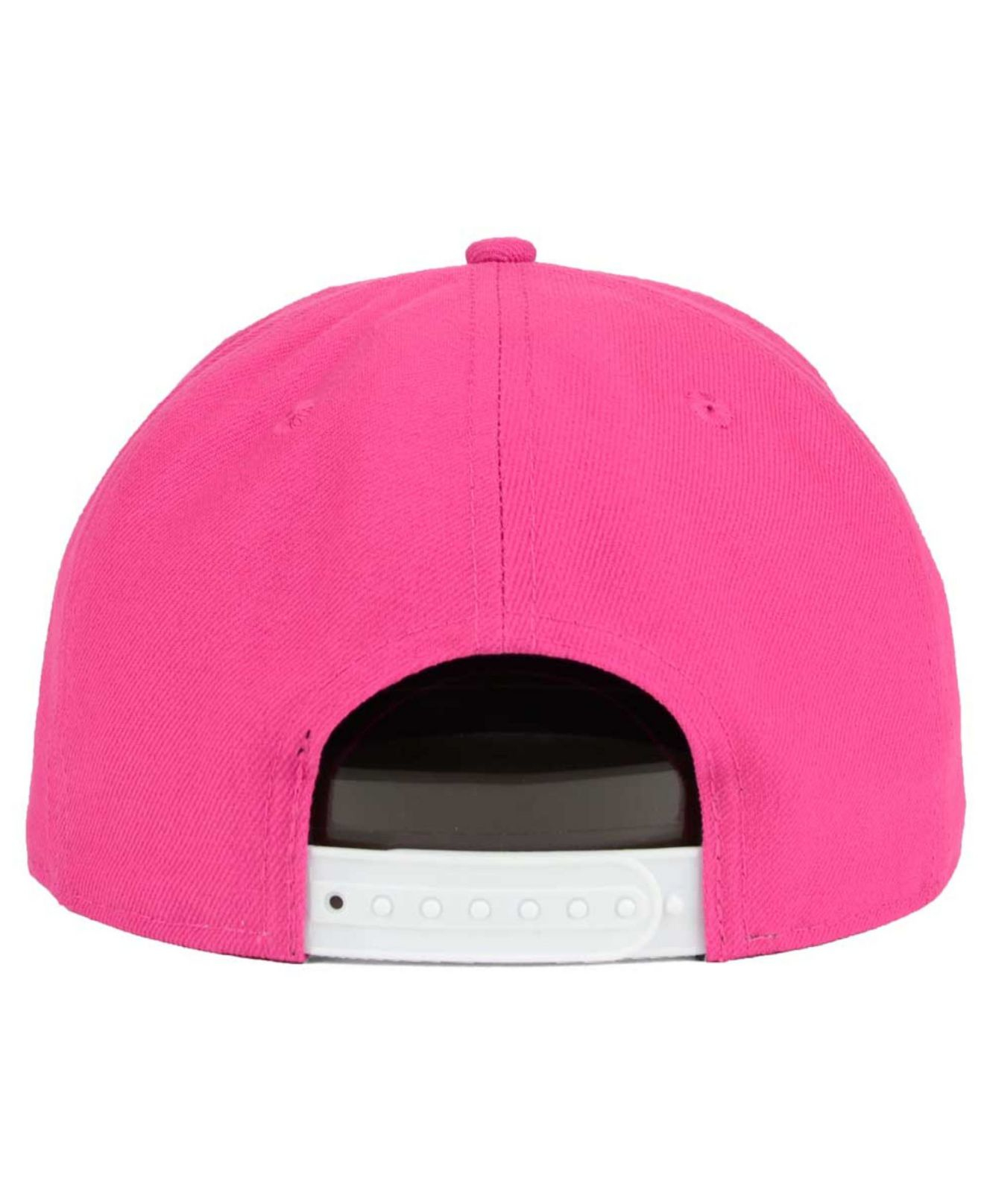 reputable site 71f54 81a9b Lyst - KTZ Chicago White Sox C-dub 9fifty Snapback Cap in Pink for Men