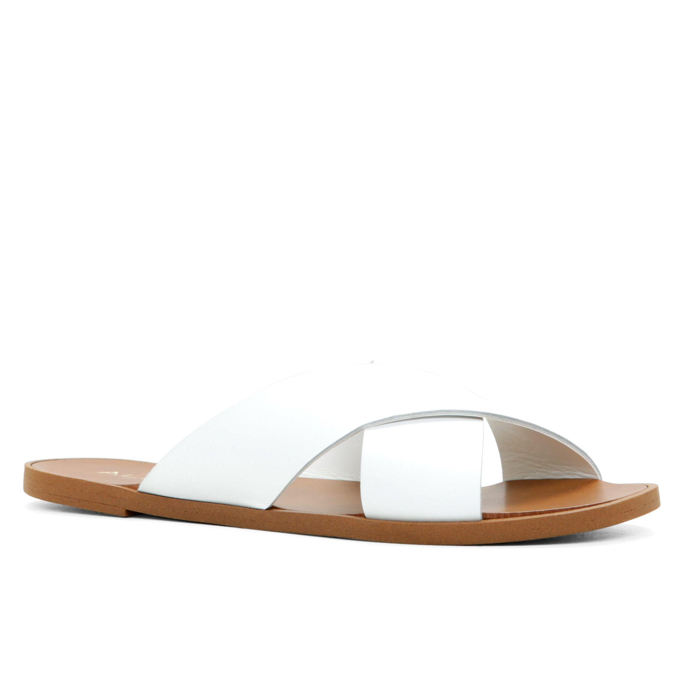 3cd5295ebe4c Aldo Hinshaw Slip-on Sandals in Metallic - Lyst