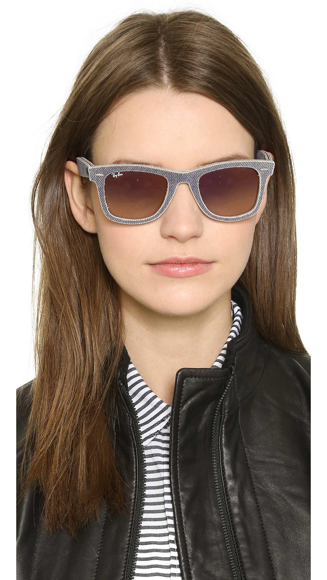 ray ban keyhole wayfarer sunglasses  gallery. previously sold at: shopbop · women's wayfarer sunglasses