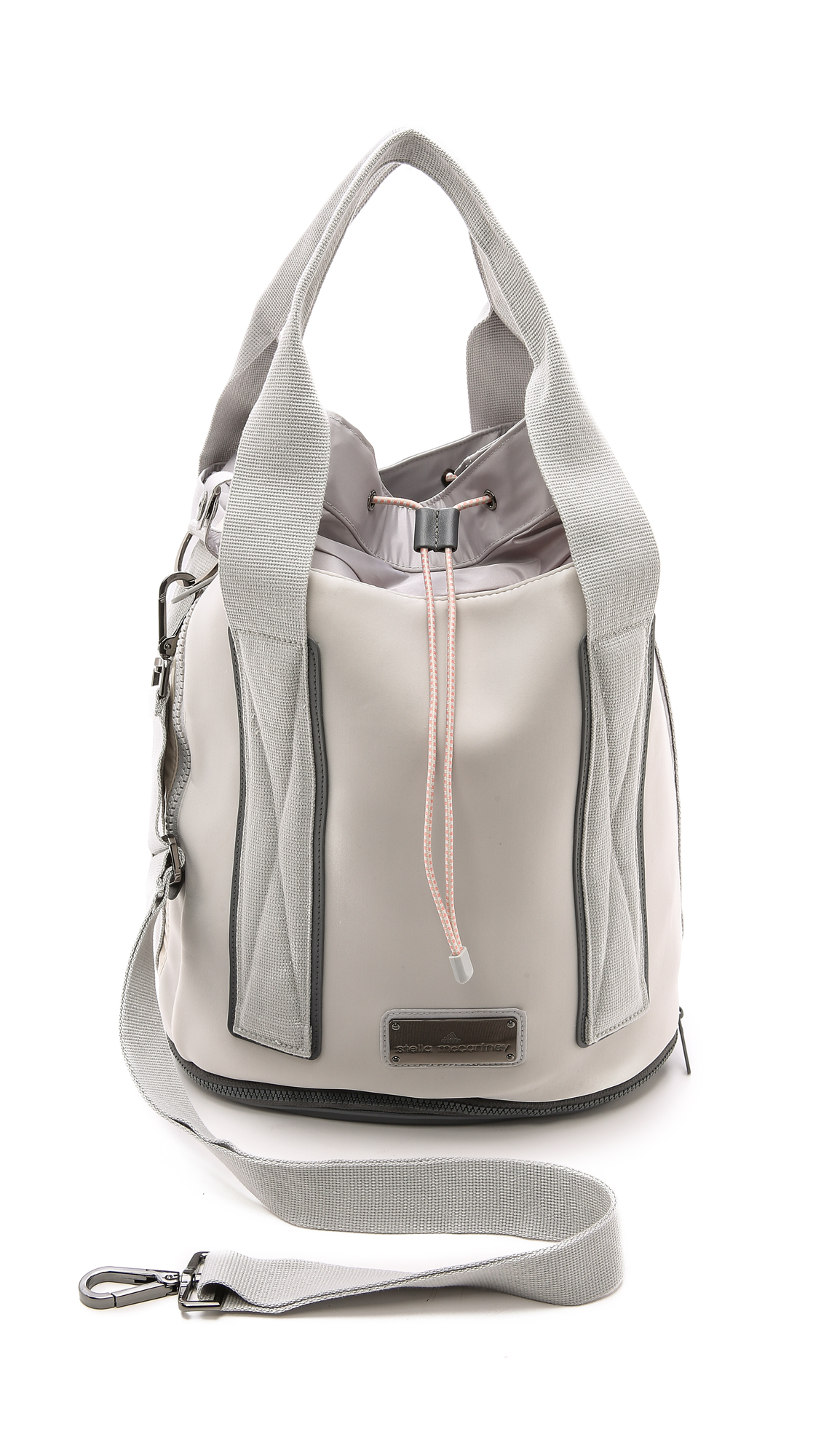 926cb69875 Adidas By Stella Mccartney Tennis Bag - Glacial in Gray - Lyst