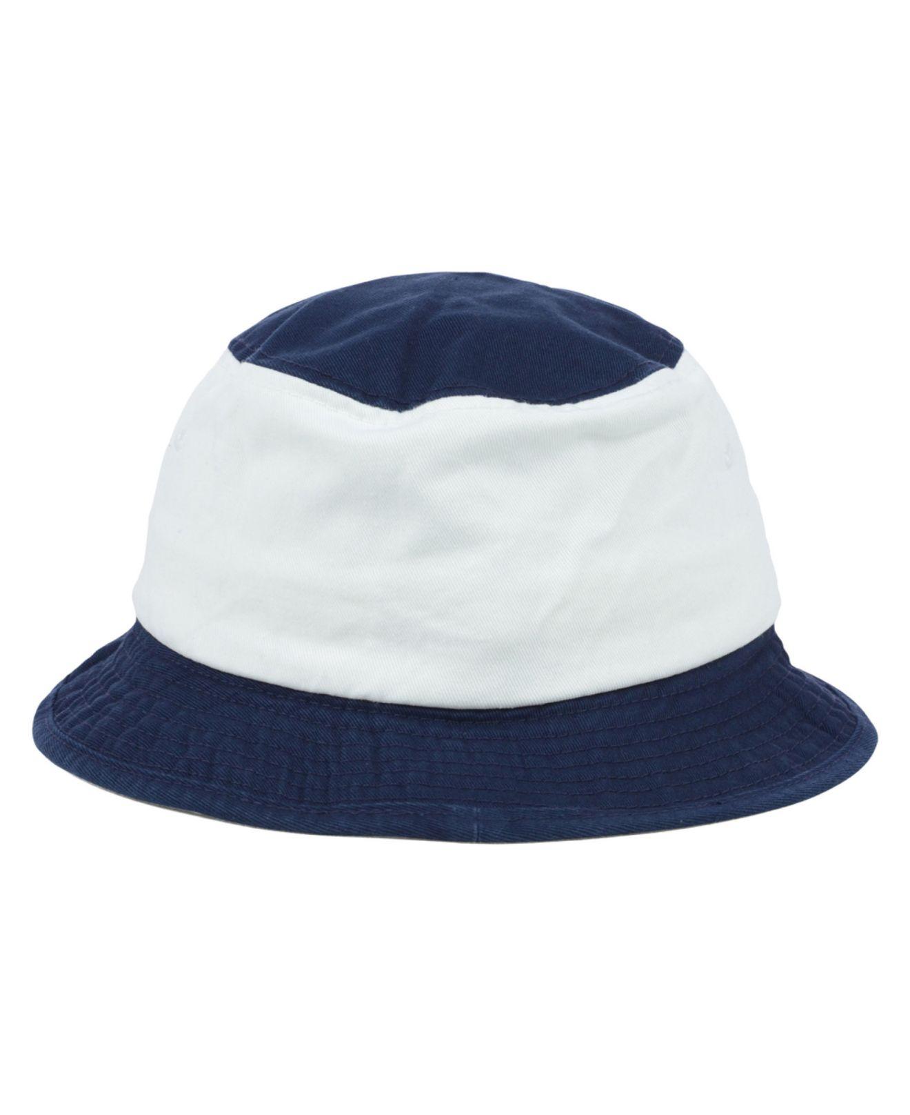 online store d460e 86a6f adidas Notre Dame Fighting Irish Script Bucket Hat in Blue for Men - Lyst