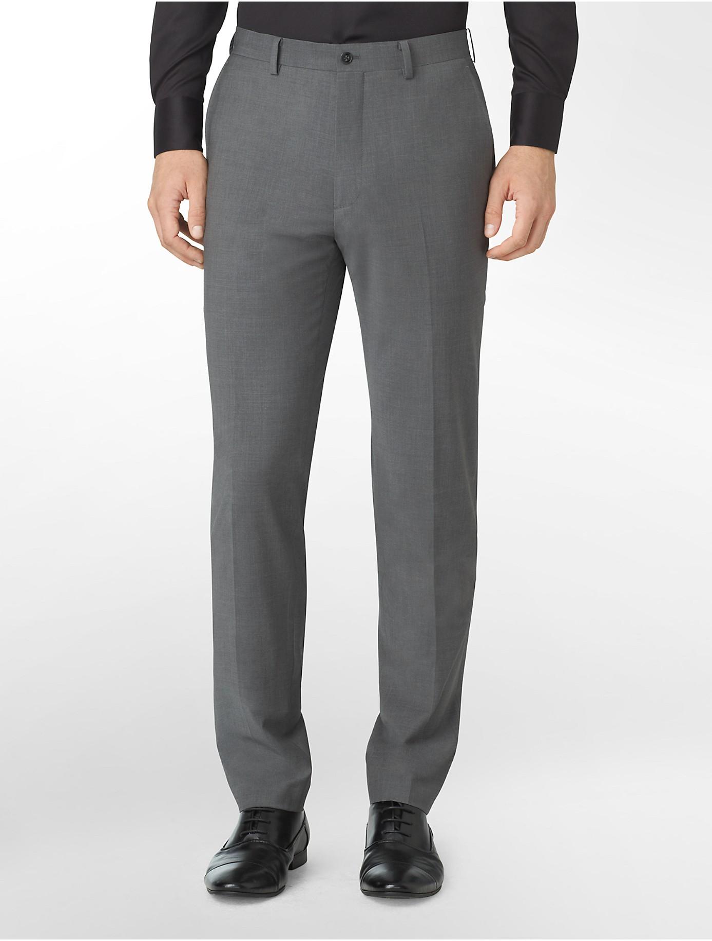 Grey Suit Pants Hardon Clothes