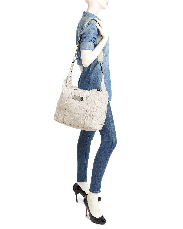 Lyst - adidas By Stella McCartney Tote - Small Gym Bag in Purple c0ecc1475f