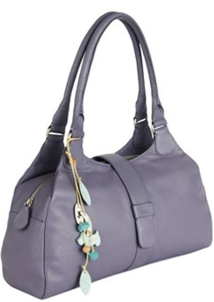 Radley Radley Danby Large Ziptop Tote Bag in Purple