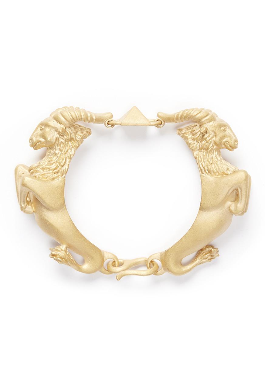 Valentino Capricorn Gold-tone Bracelet UPyWnj