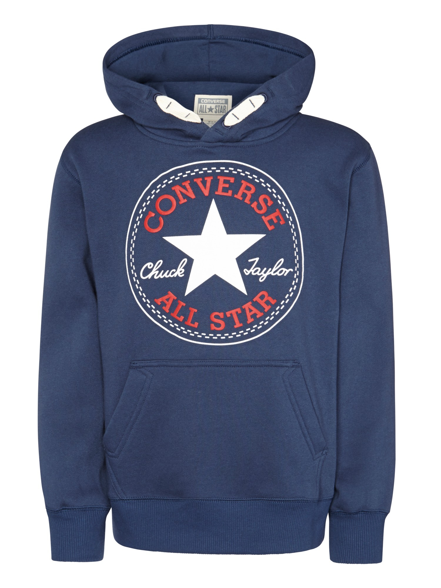 Converse Boys  Pullover Hoodie in Blue - Lyst 957c5ed878