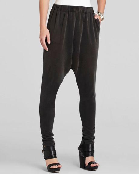 Bcbgmaxazria bcbg max azria pants kendell harem in black vintage