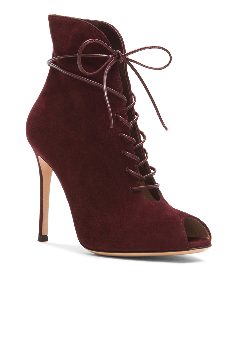 sale fake clearance store sale online Sergio Rossi open toe lace-up boots best seller cheap price outlet cheap quality cost online vjGgiNwS