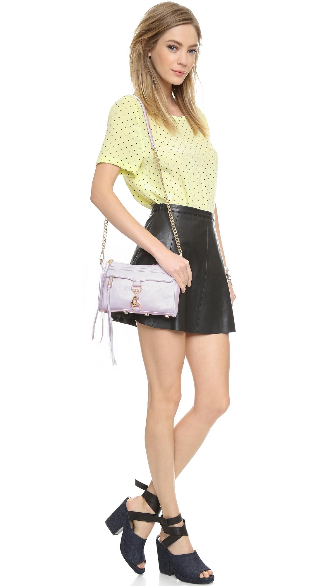 Mini M.A.C shoulder bag - White Rebecca Minkoff Very Cheap Sale Online Cheap Sale Sast 0URAQoUgS