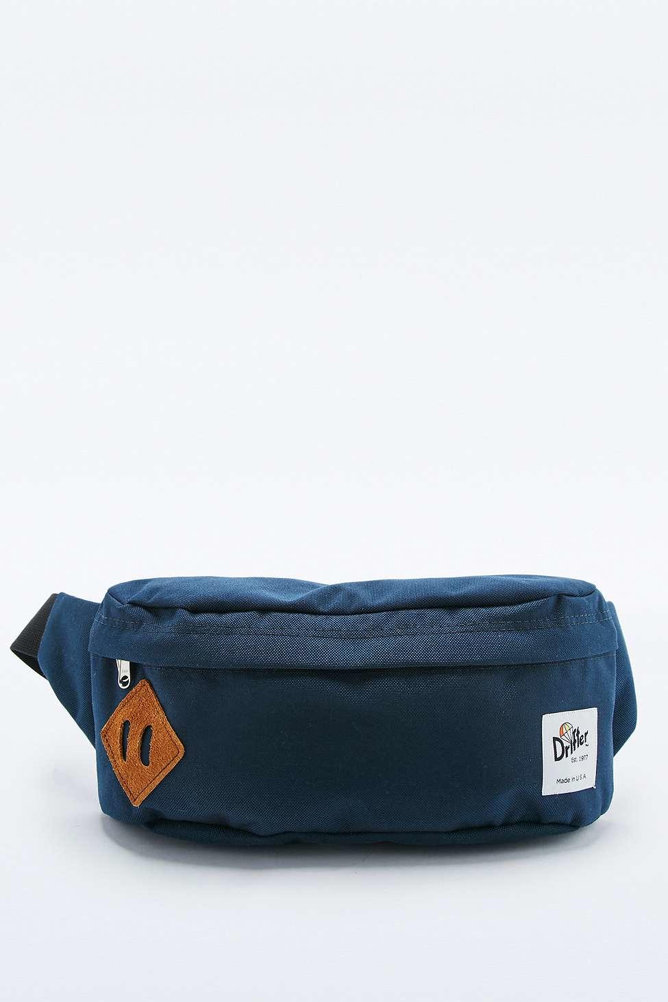 9fa27b635f6e Drifter Classic Navy Hip Sack in Blue for Men - Lyst
