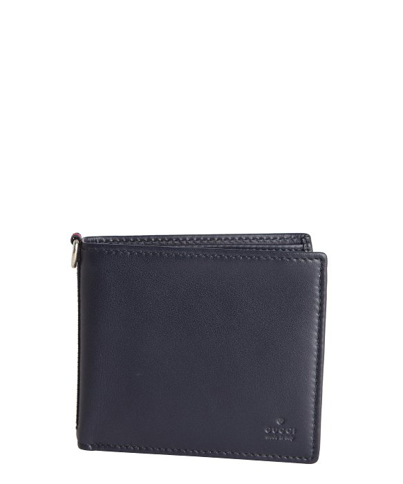 a521b25efcd971 Gucci Leather Web Bifold Wallet | Stanford Center for Opportunity ...