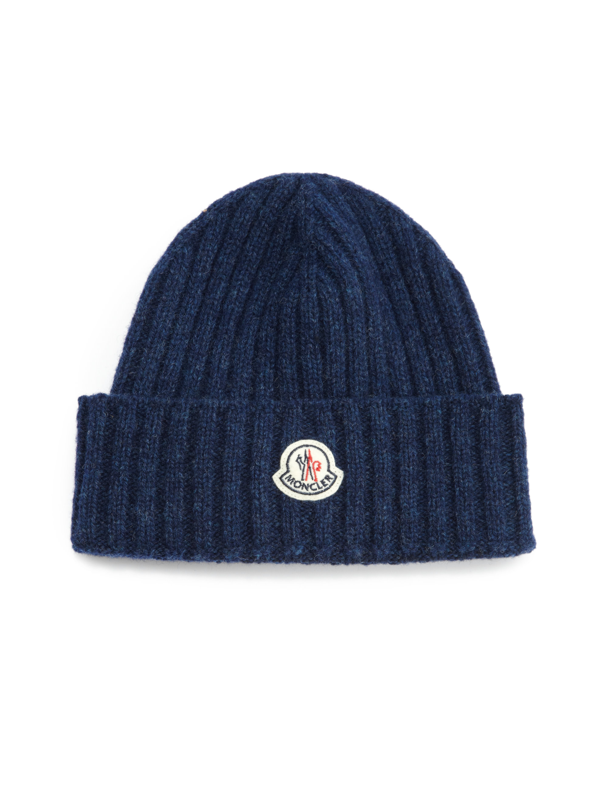 Lyst - Moncler Wool Hat in Blue for Men 022e4d3dc32