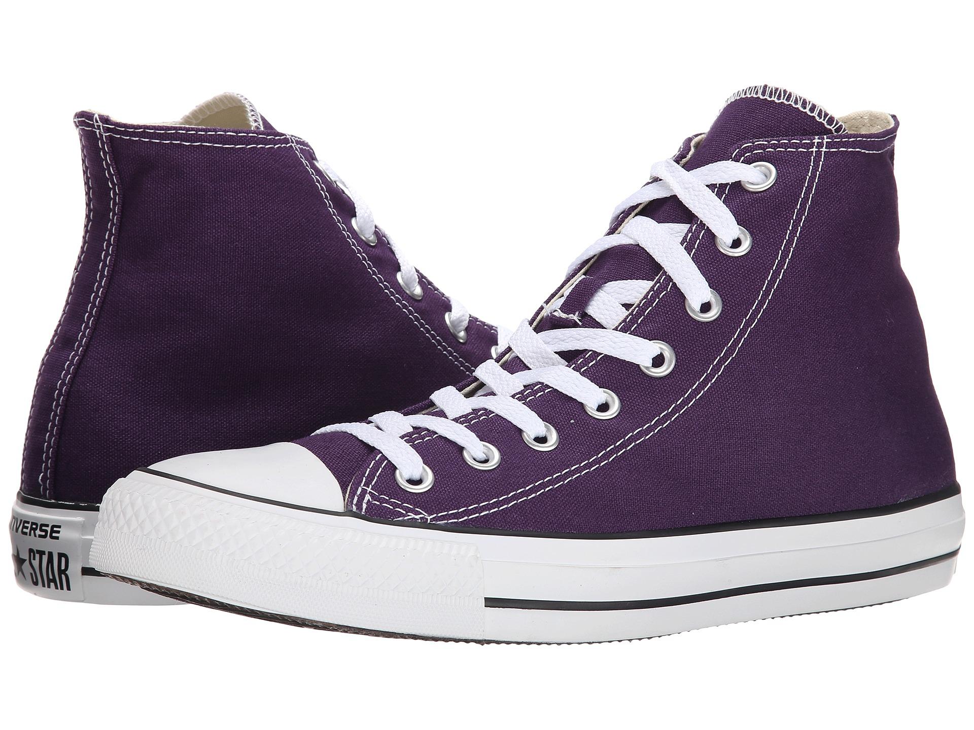 1e2cd8c7cddd Lyst - Converse Chuck Taylor® All Star® Seasonal Hi in Purple for Men