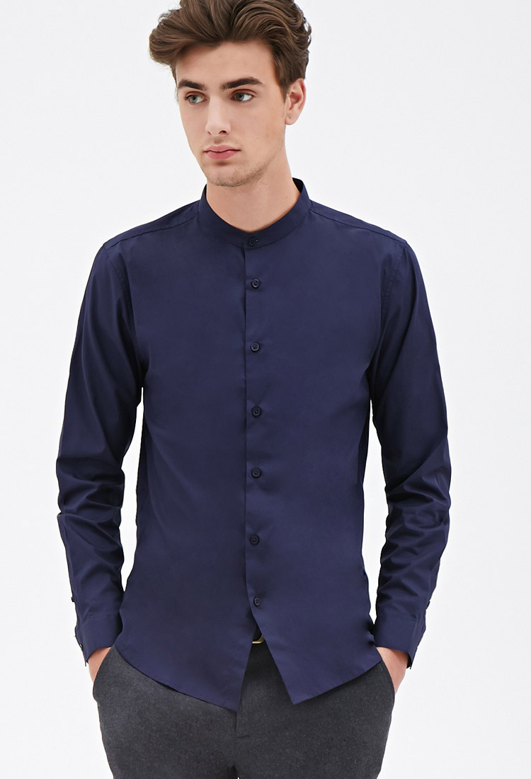 Find great deals on eBay for mens chinese collar shirt. Shop with confidence.