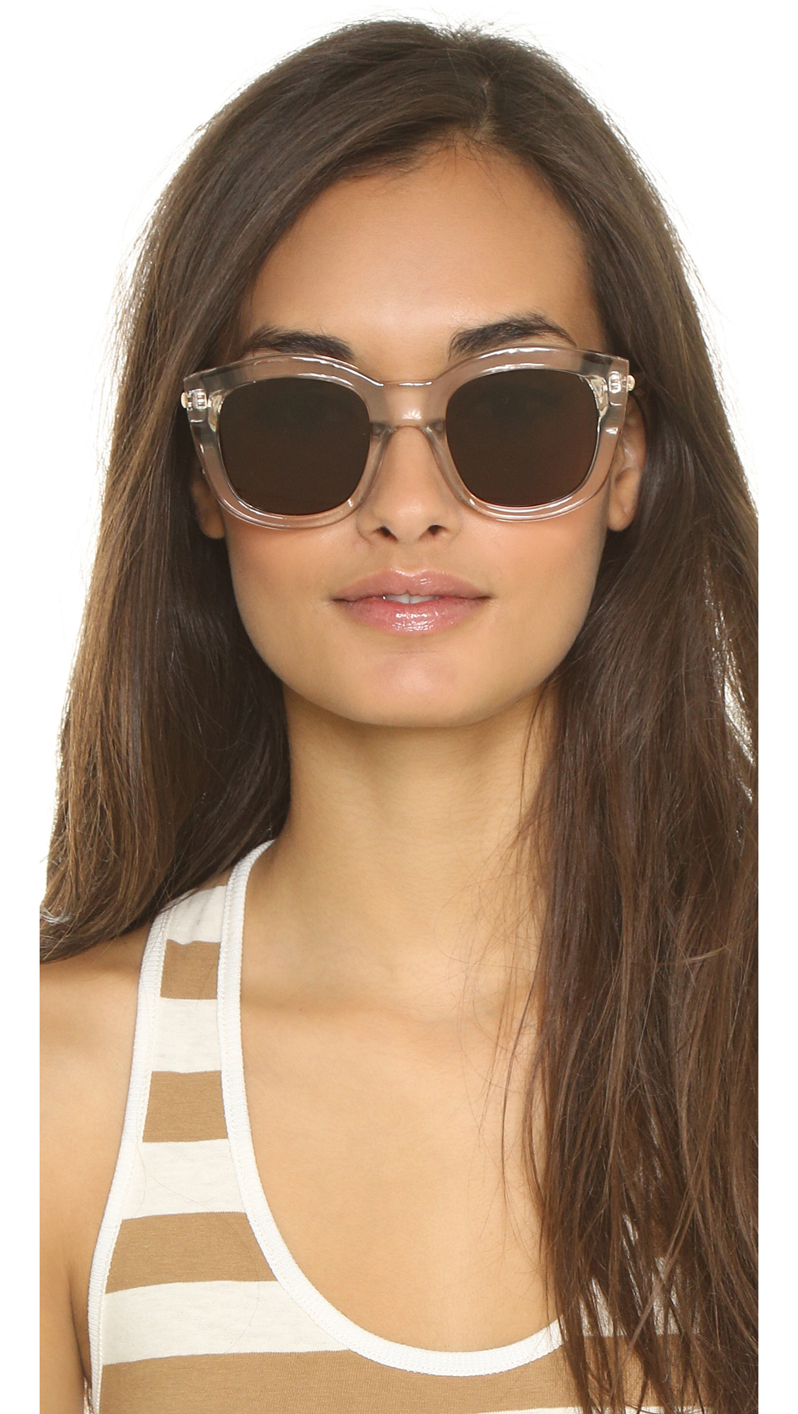 57ddfa88f27 Lyst - Le Specs Runway Luxe Sunglasses in Natural