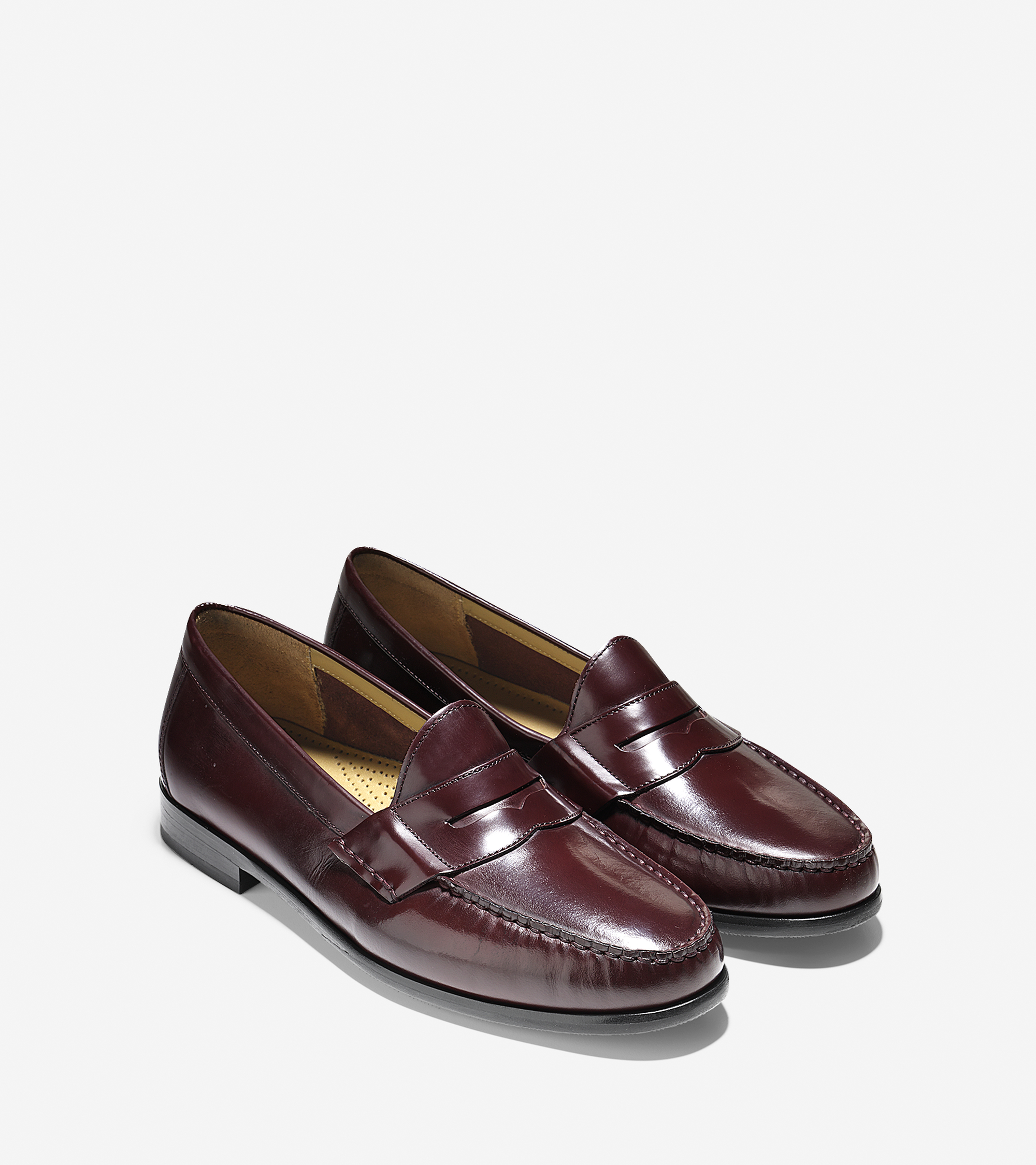 Lyst - Cole Haan Ascot Penny Loafer in Purple for Men