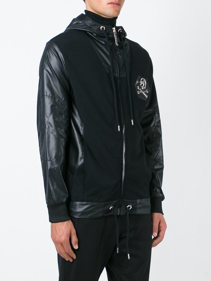 philipp plein 39 cool 39 jacket in black for men lyst. Black Bedroom Furniture Sets. Home Design Ideas