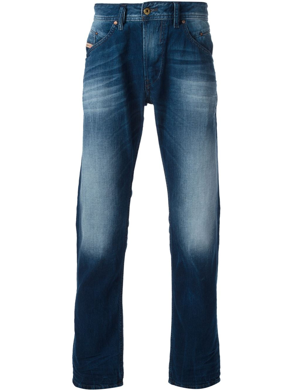 diesel 39 belther 39 tapered jeans in blue for men lyst. Black Bedroom Furniture Sets. Home Design Ideas
