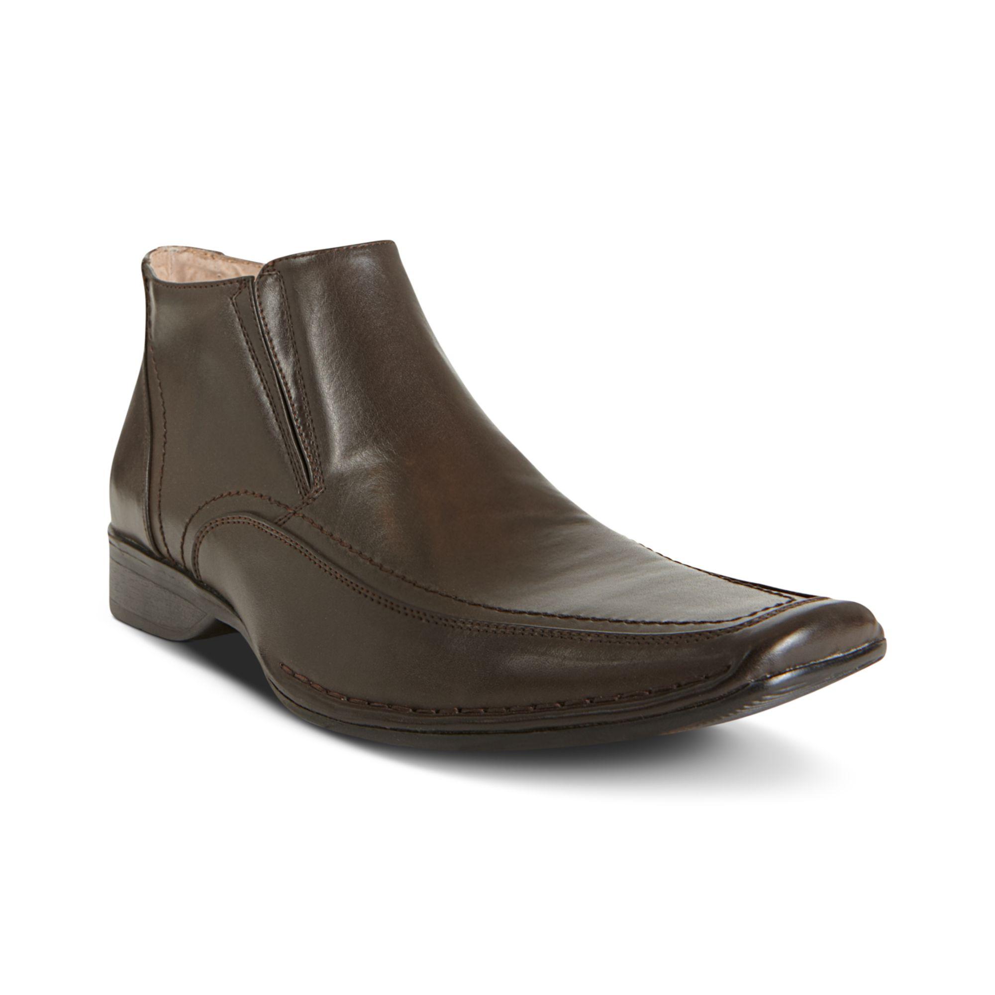 steve madden rhode chukka boots in brown for men lyst. Black Bedroom Furniture Sets. Home Design Ideas