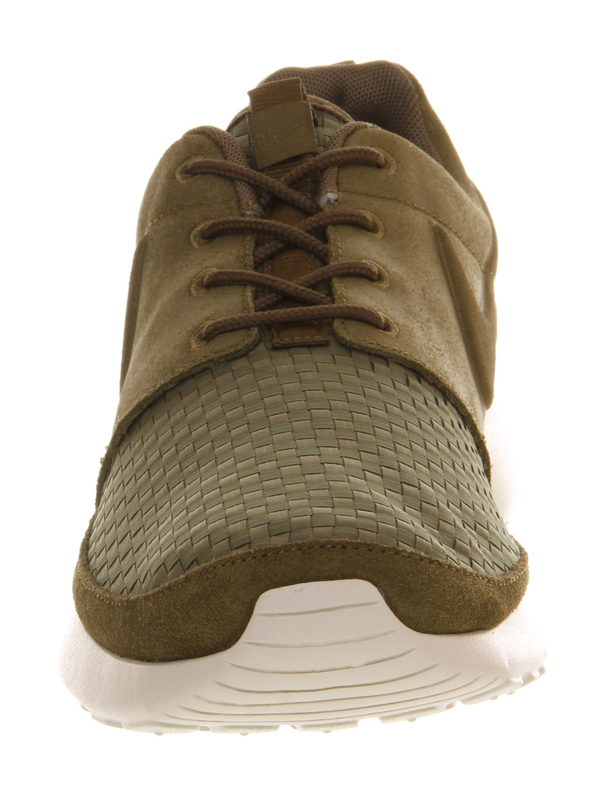 lyst nike roshe run olive green sail woven tag in green. Black Bedroom Furniture Sets. Home Design Ideas
